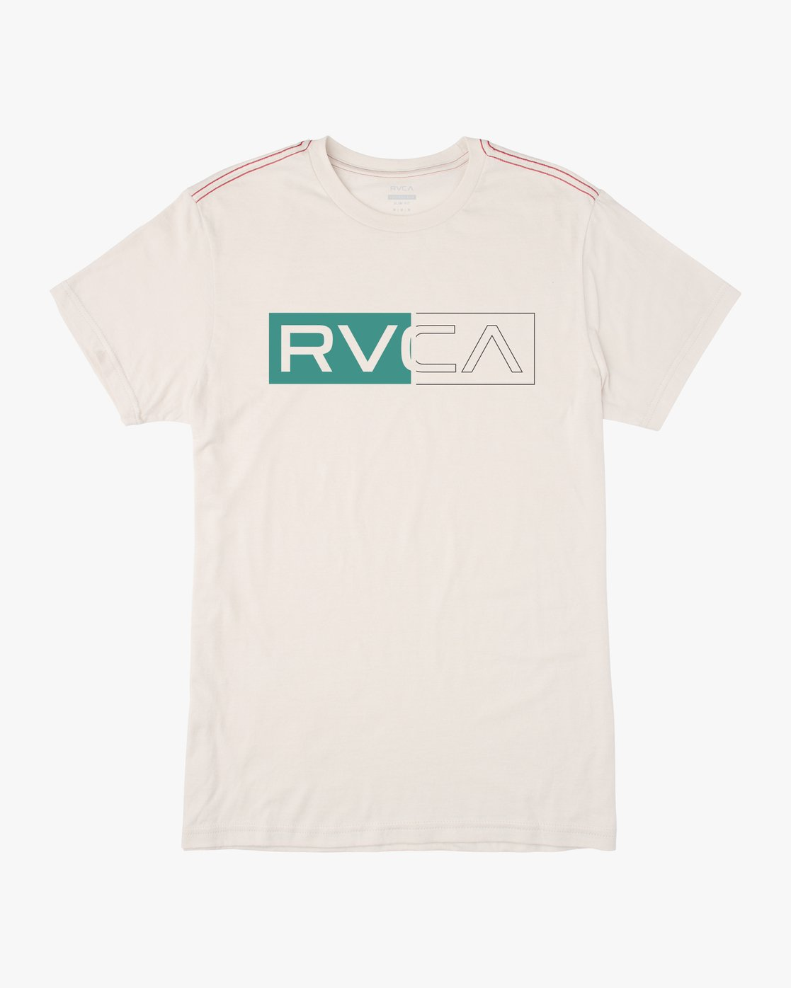 1 BOYS DIVIDER SHORT SLEEVE TEE White AVBZT00103 RVCA