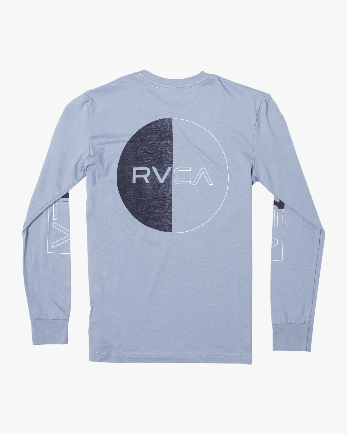 1 BOYS DIVIDES LONG SLEEVE TEE Blue AVBZT00108 RVCA