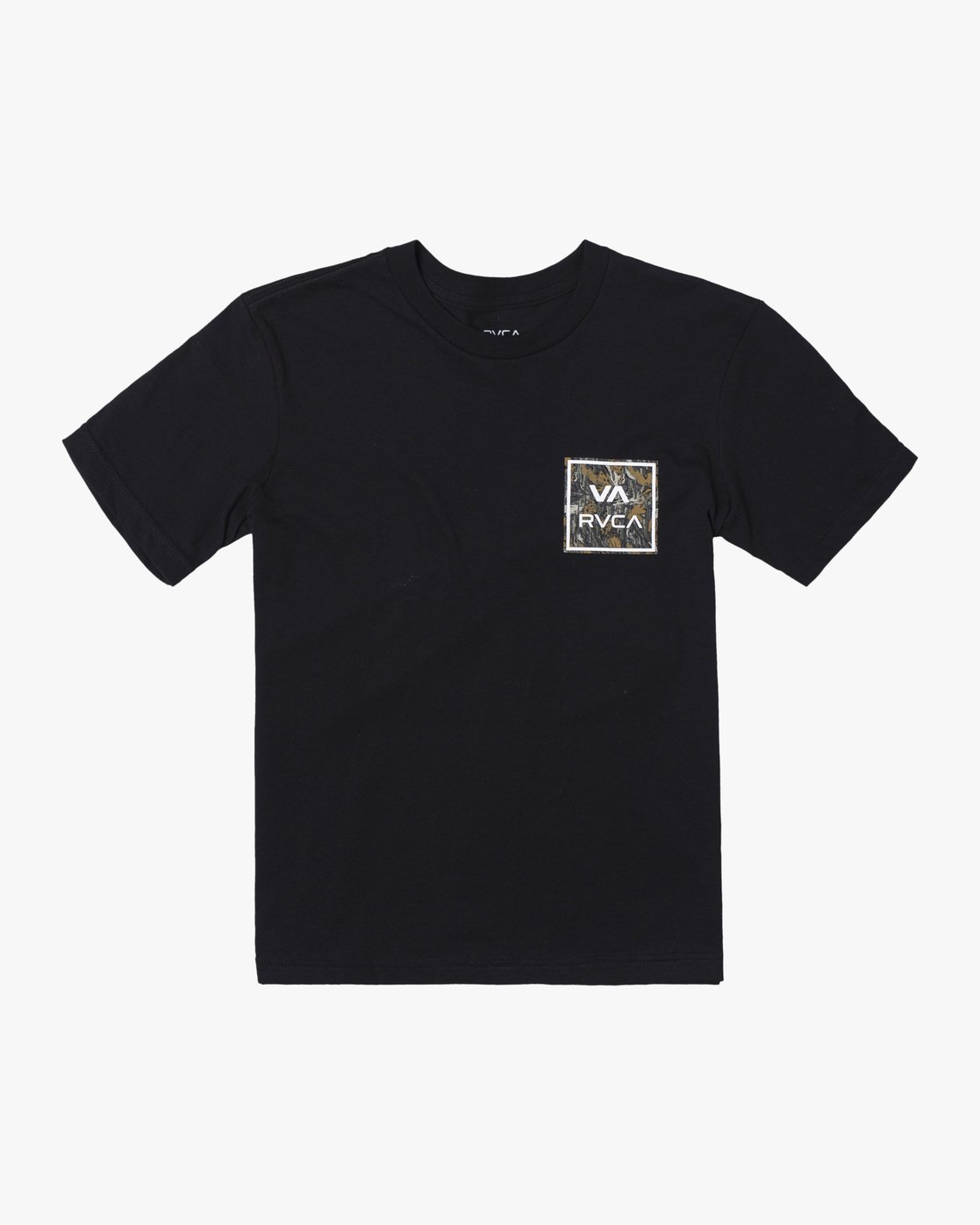 0 BOYS VA ATW SHORT SLEEVE TEE Black AVBZT00117 RVCA