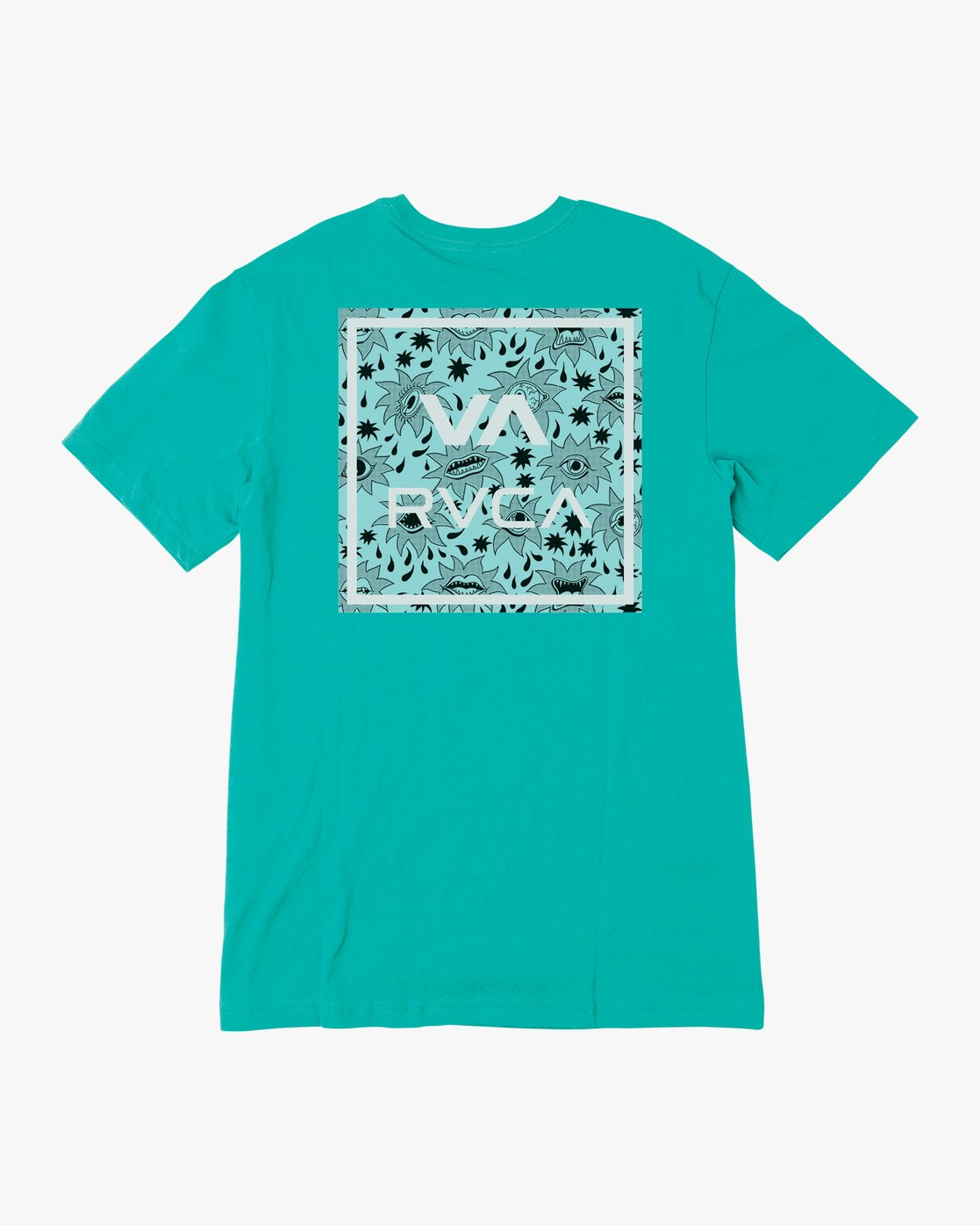 1 BOY'S VA ALL THE WAY SHORT SLEEVE TEE Blue AVBZT00144 RVCA