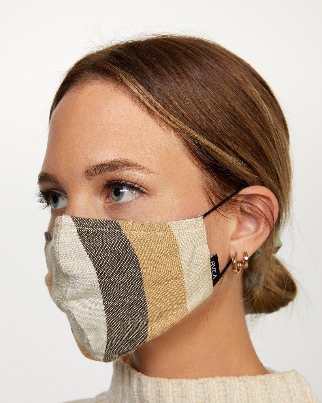 2 Mask and Scrunchie Set Grey AVJAA00101 RVCA