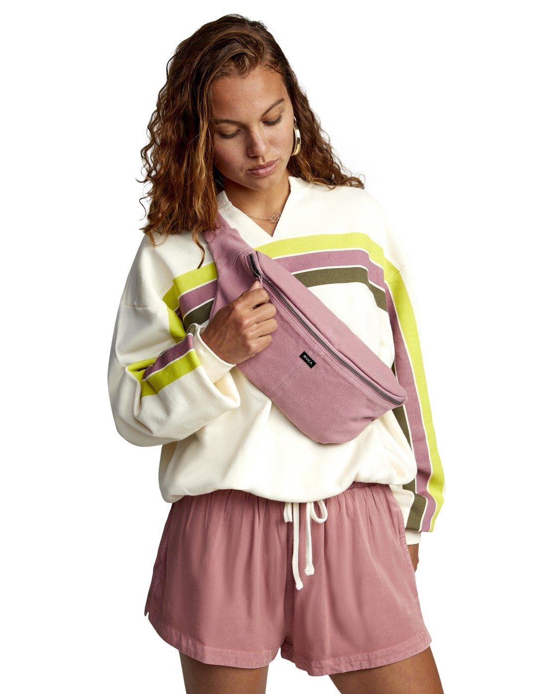 1 SPLIT UP CROSSBODY BAG Pink AVJBA00104 RVCA