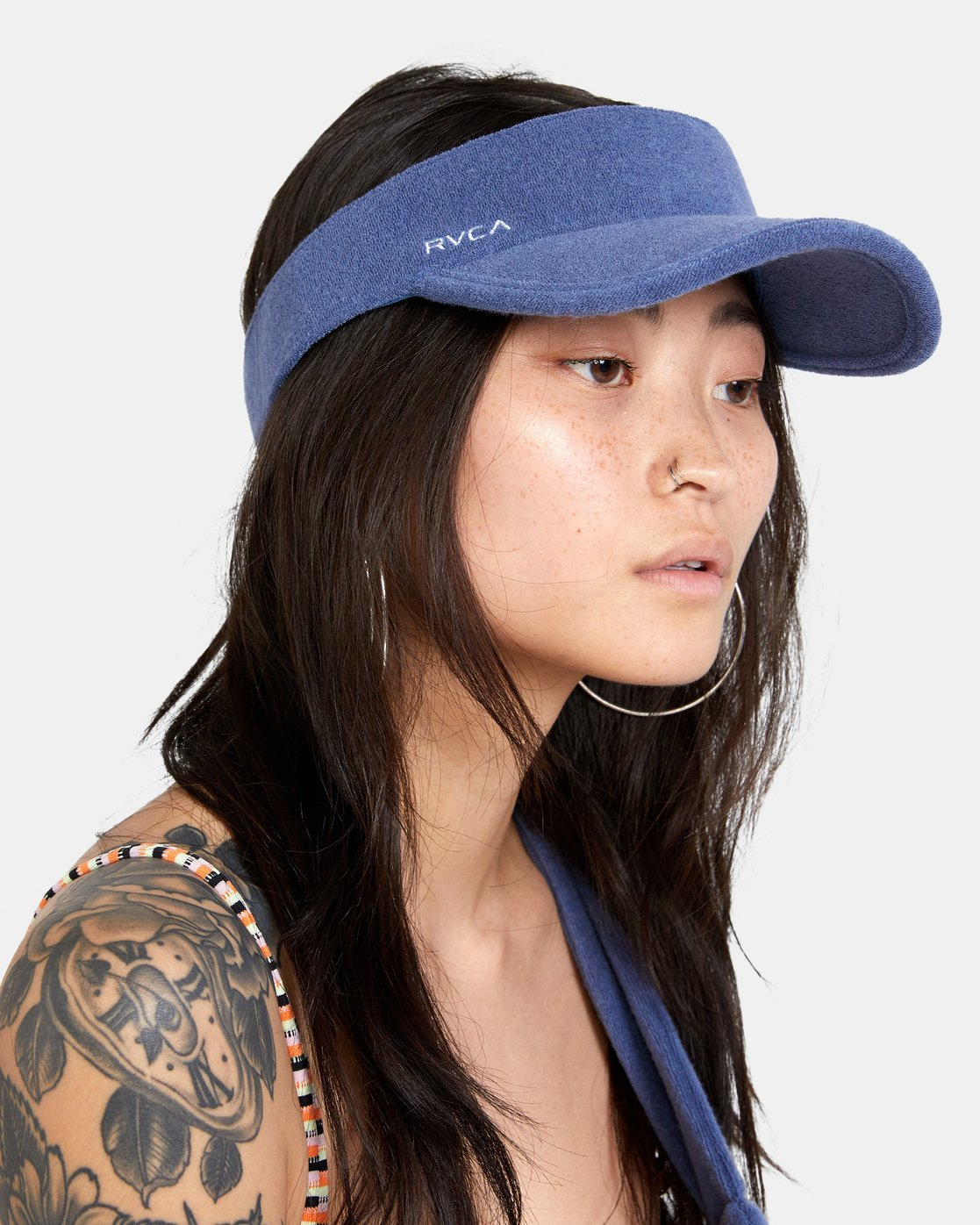 1 All Out Visor Blue AVJHA00111 RVCA