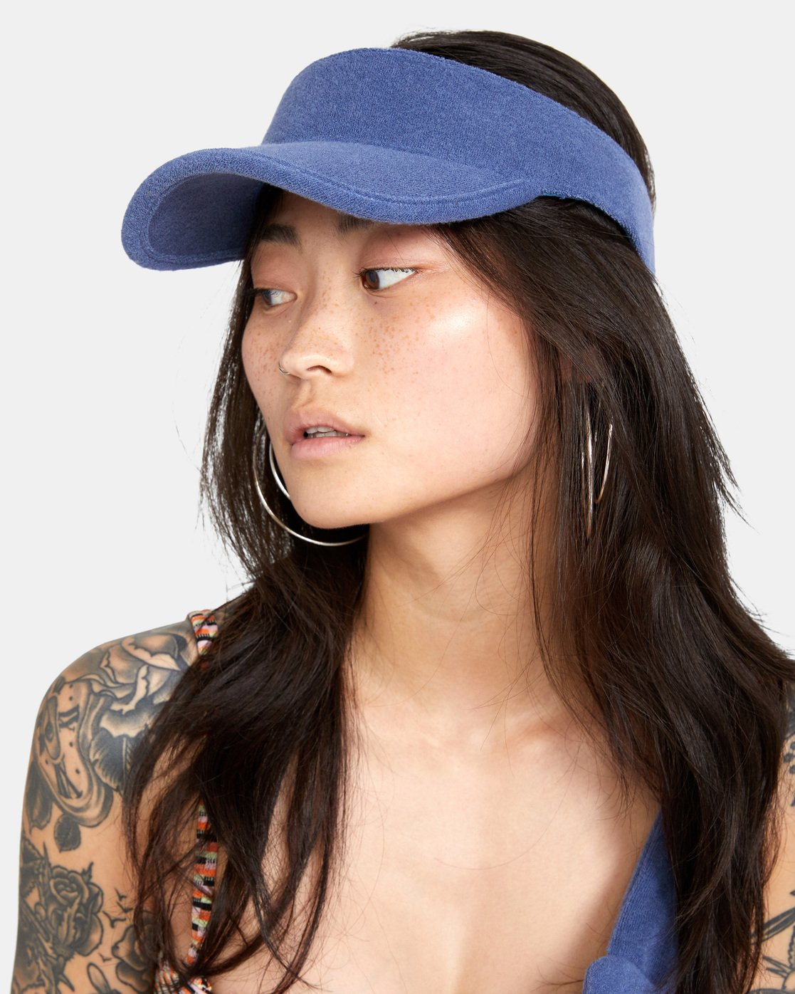 2 All Out Visor Blue AVJHA00111 RVCA