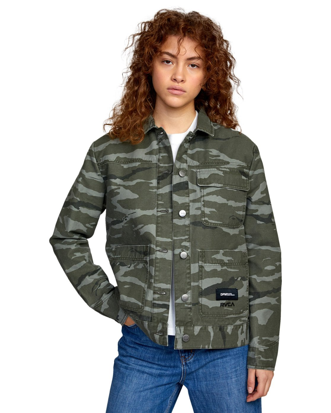 0 BUILDING BLOCK JACKET  AVJJK00111 RVCA