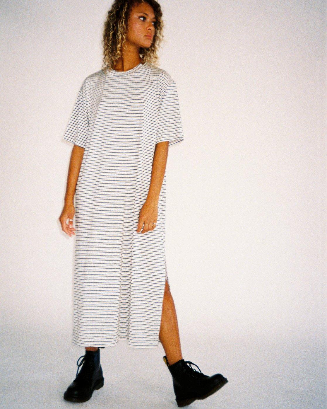 0 Anyday Tee Dress Brown AVJKD00119 RVCA