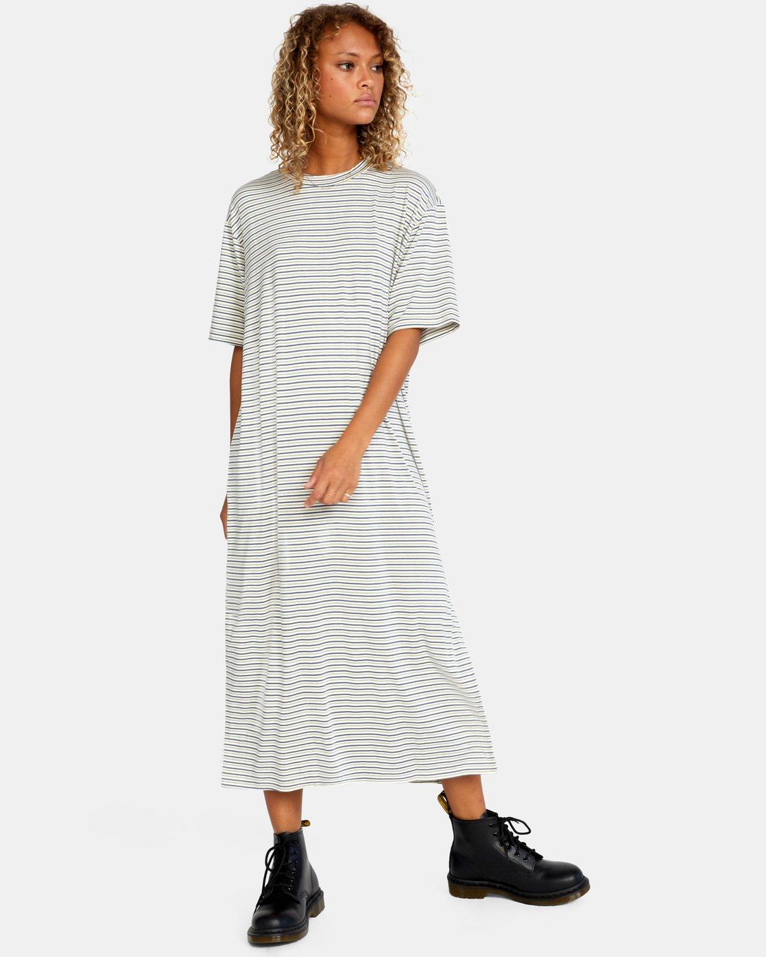 6 Anyday Tee Dress Brown AVJKD00119 RVCA