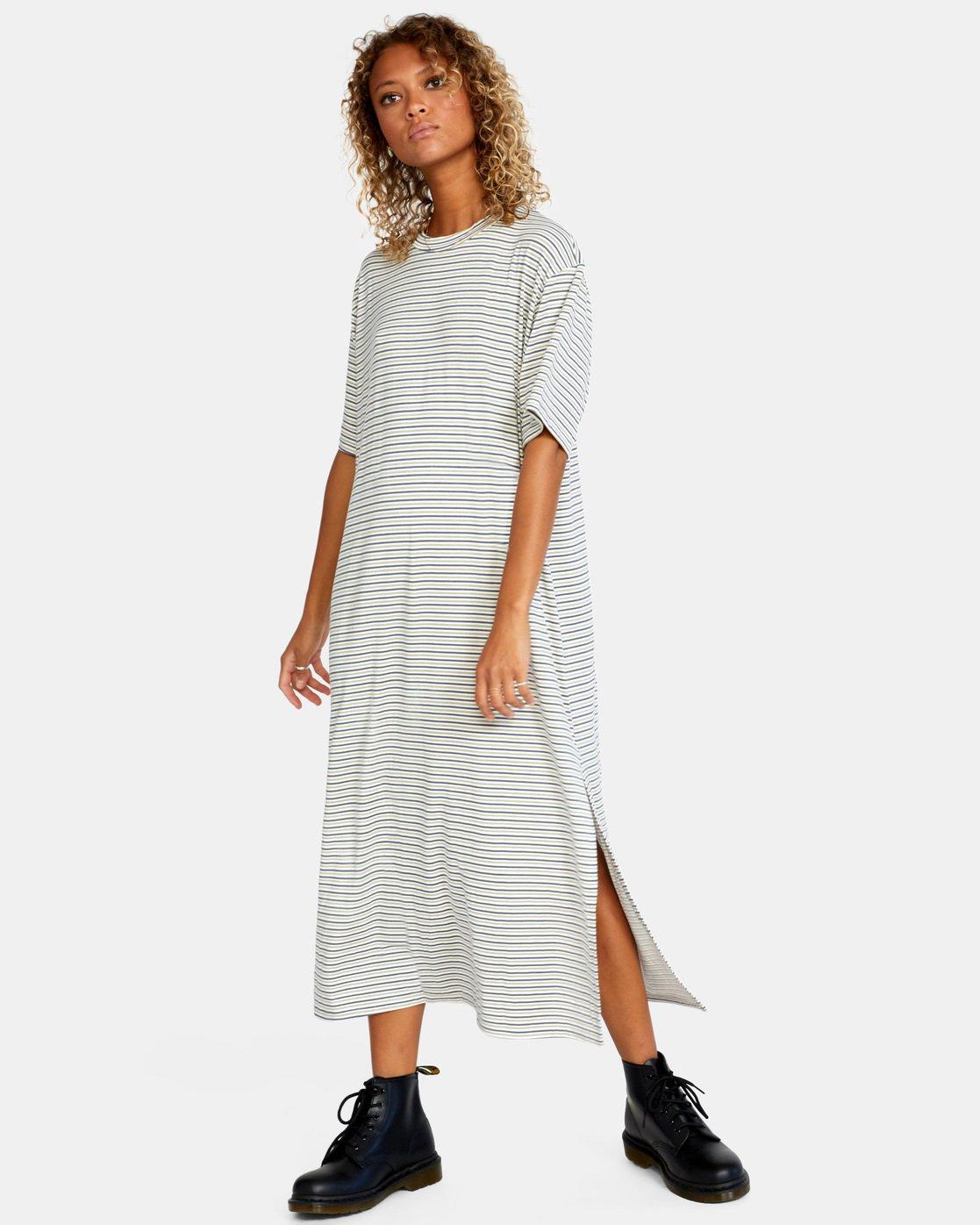 7 Anyday Tee Dress Brown AVJKD00119 RVCA