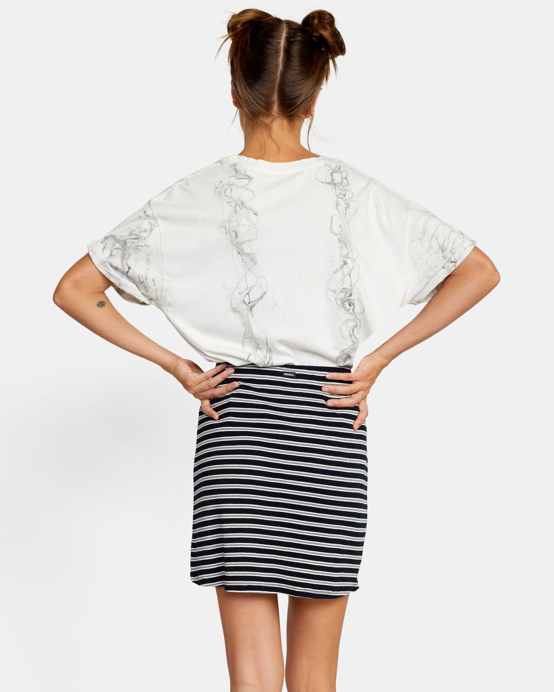 1 Pace Skirt White AVJKK00101 RVCA