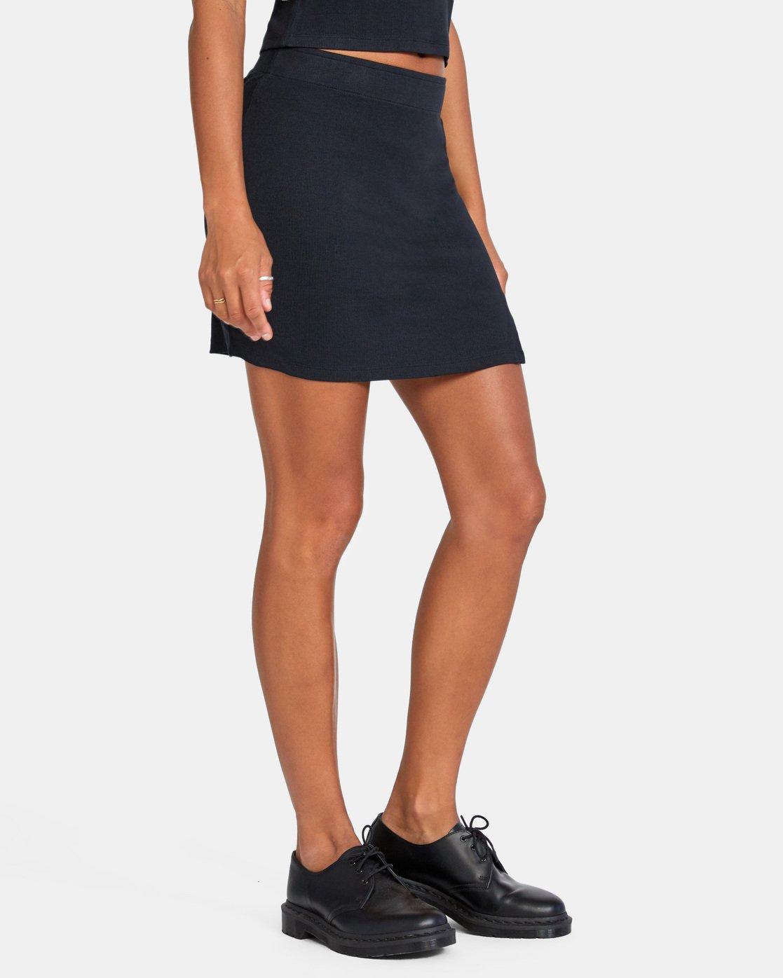 5 Pace Skirt White AVJKK00101 RVCA