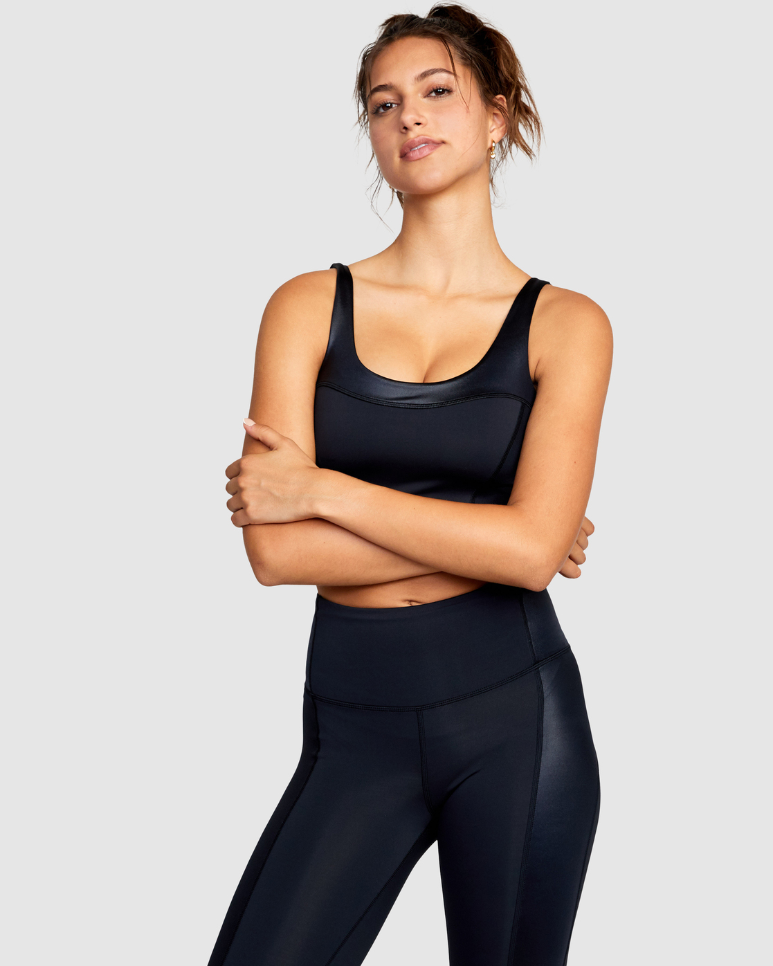 0 Mystique Sports Bra Black AVJKT00132 RVCA
