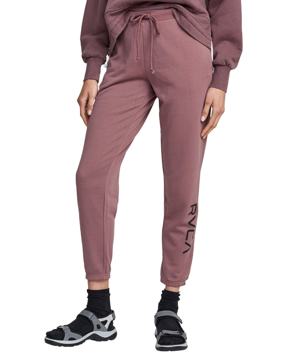 8 BIG RVCA SWEATPANT Purple AVJNP00117 RVCA