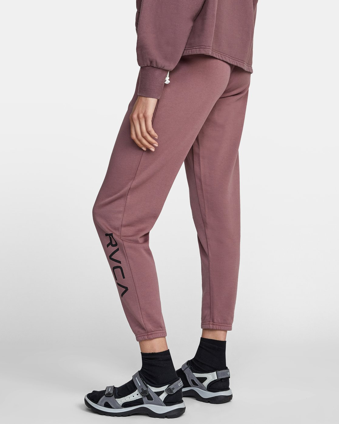 5 BIG RVCA SWEATPANT Purple AVJNP00117 RVCA