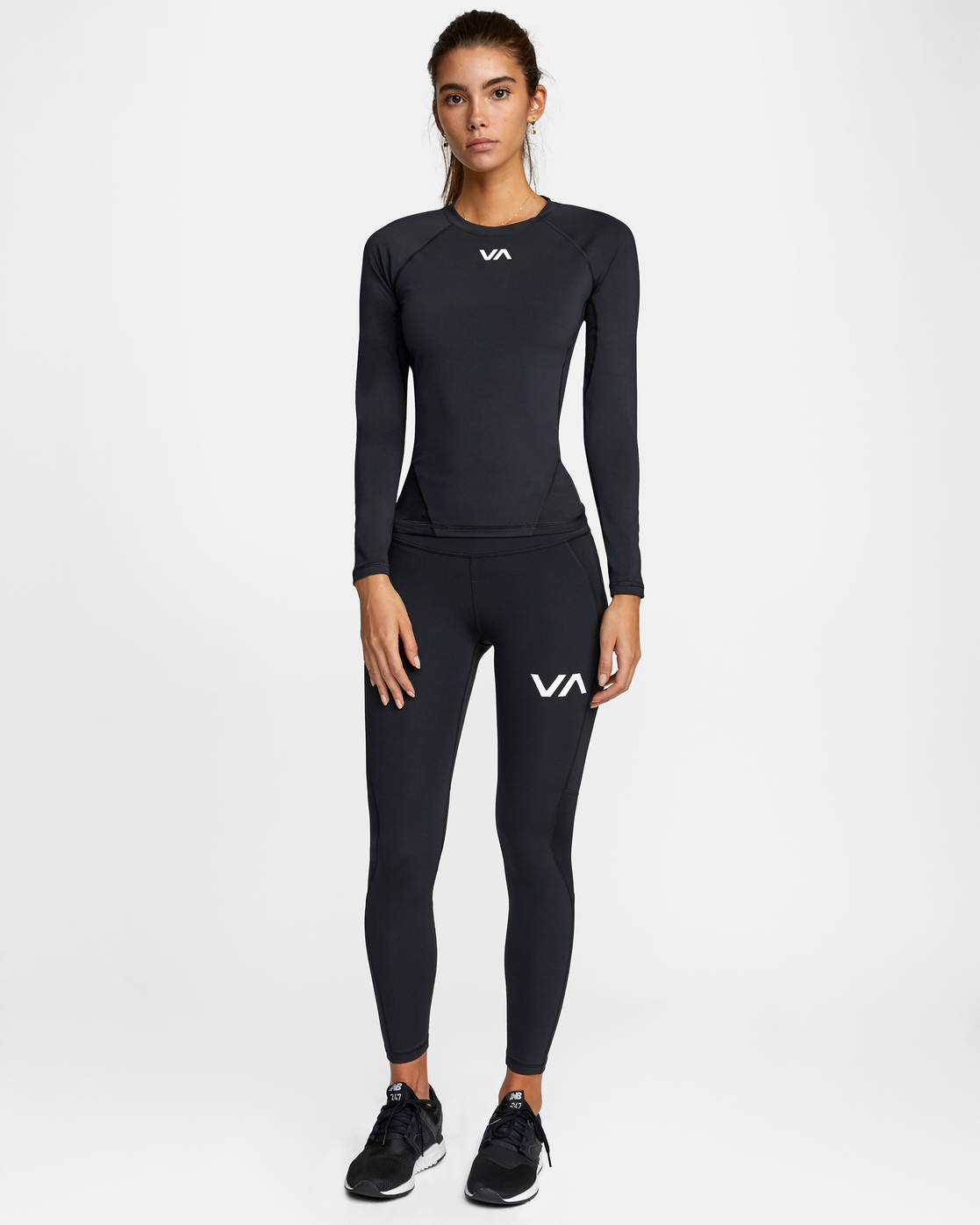 2 COMPRESSION SPORT LEGGING Black AVJNP00120 RVCA