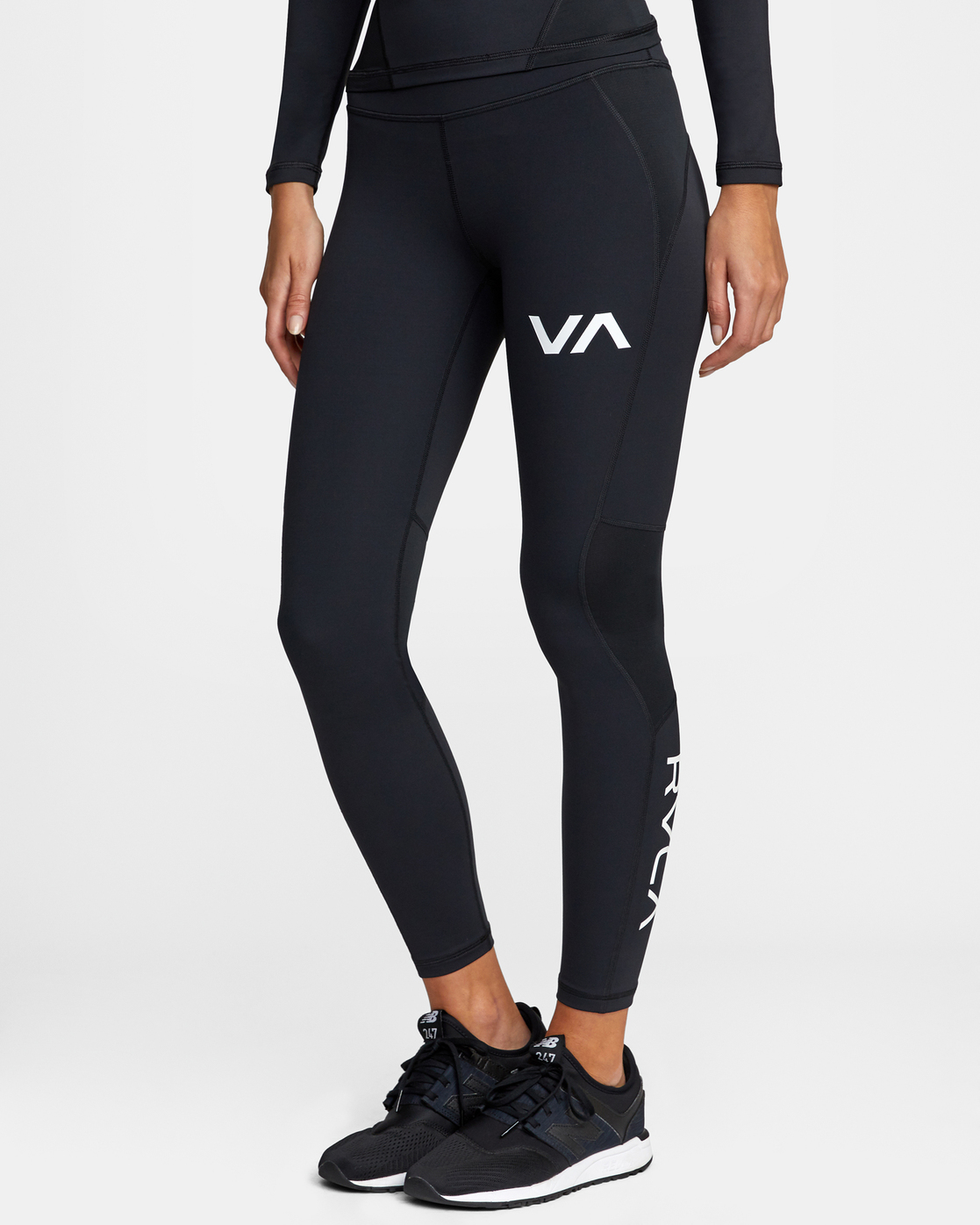 3 COMPRESSION SPORT LEGGING Black AVJNP00120 RVCA