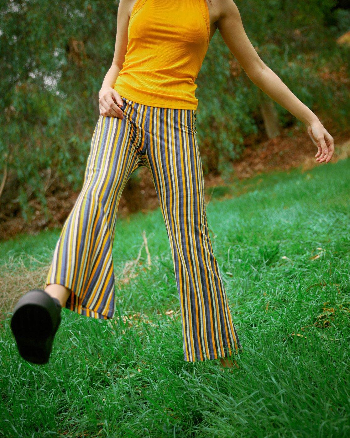 1 Kickback Pant Yellow AVJNP00127 RVCA