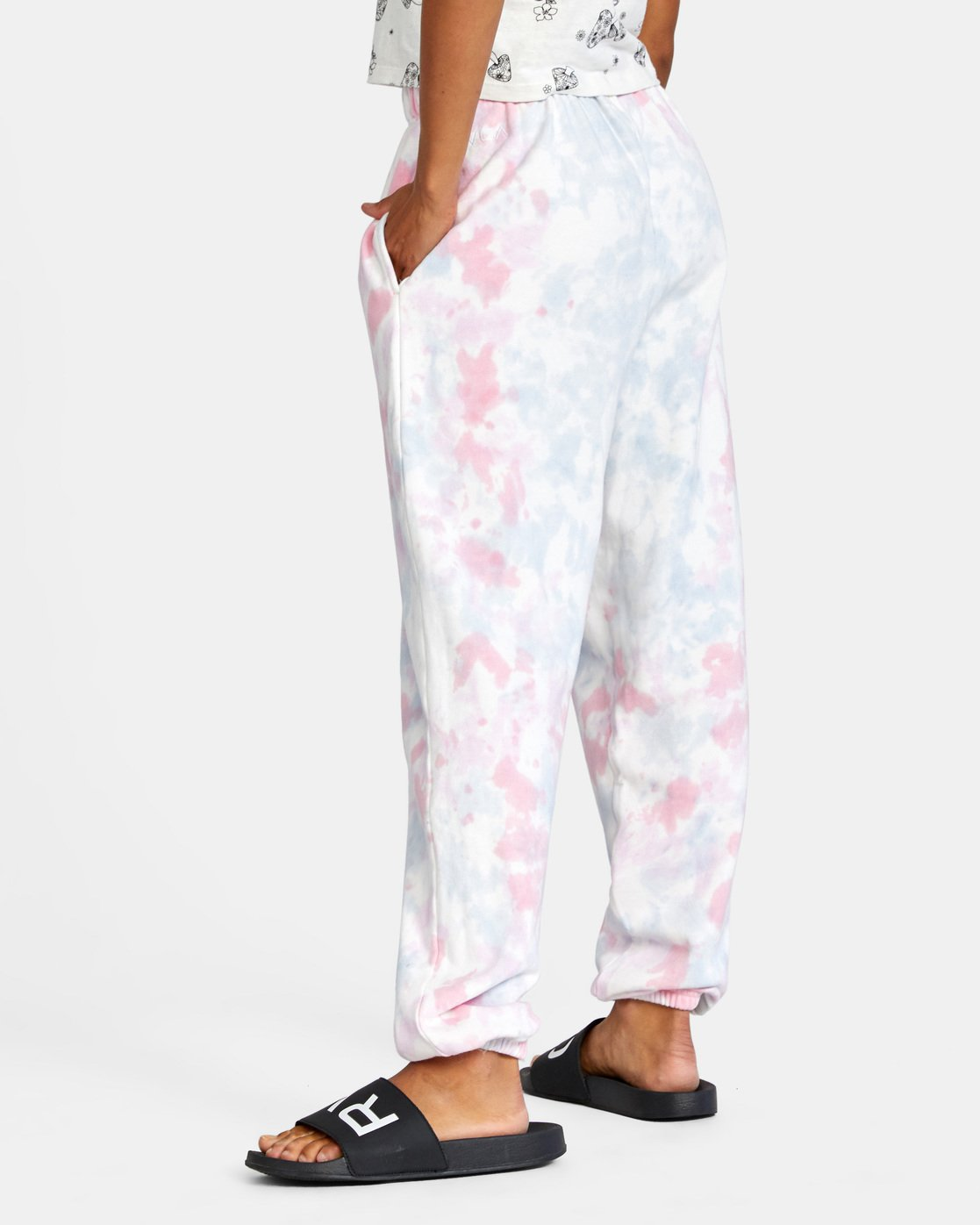 5 Little RVCA Pants White AVJNP00129 RVCA
