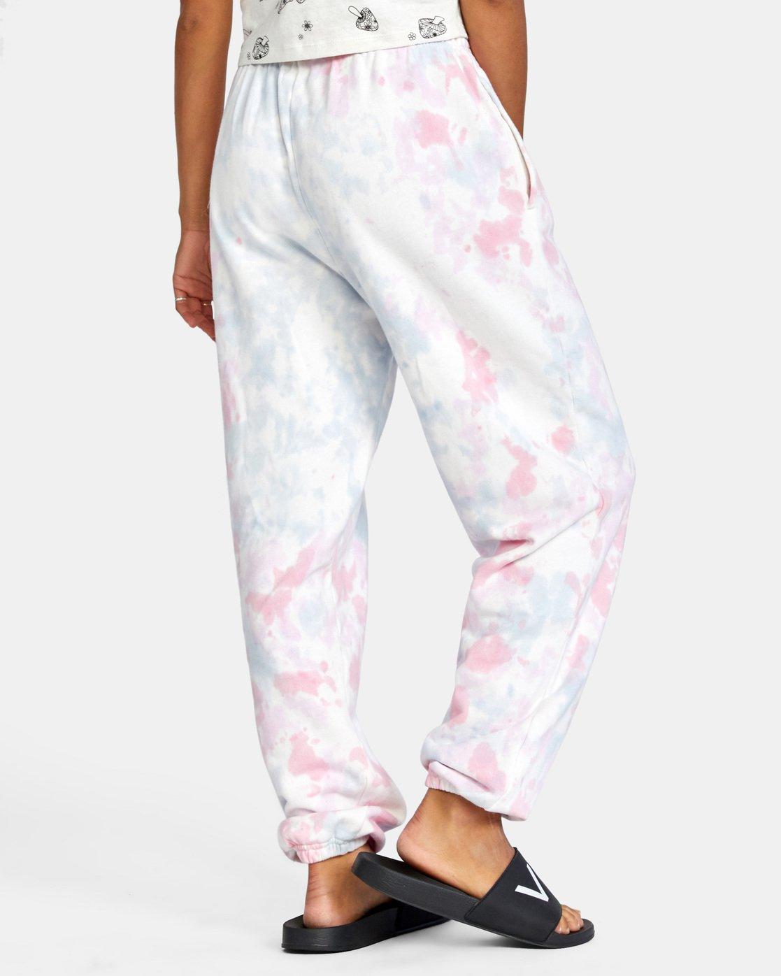 6 Little RVCA Pants White AVJNP00129 RVCA