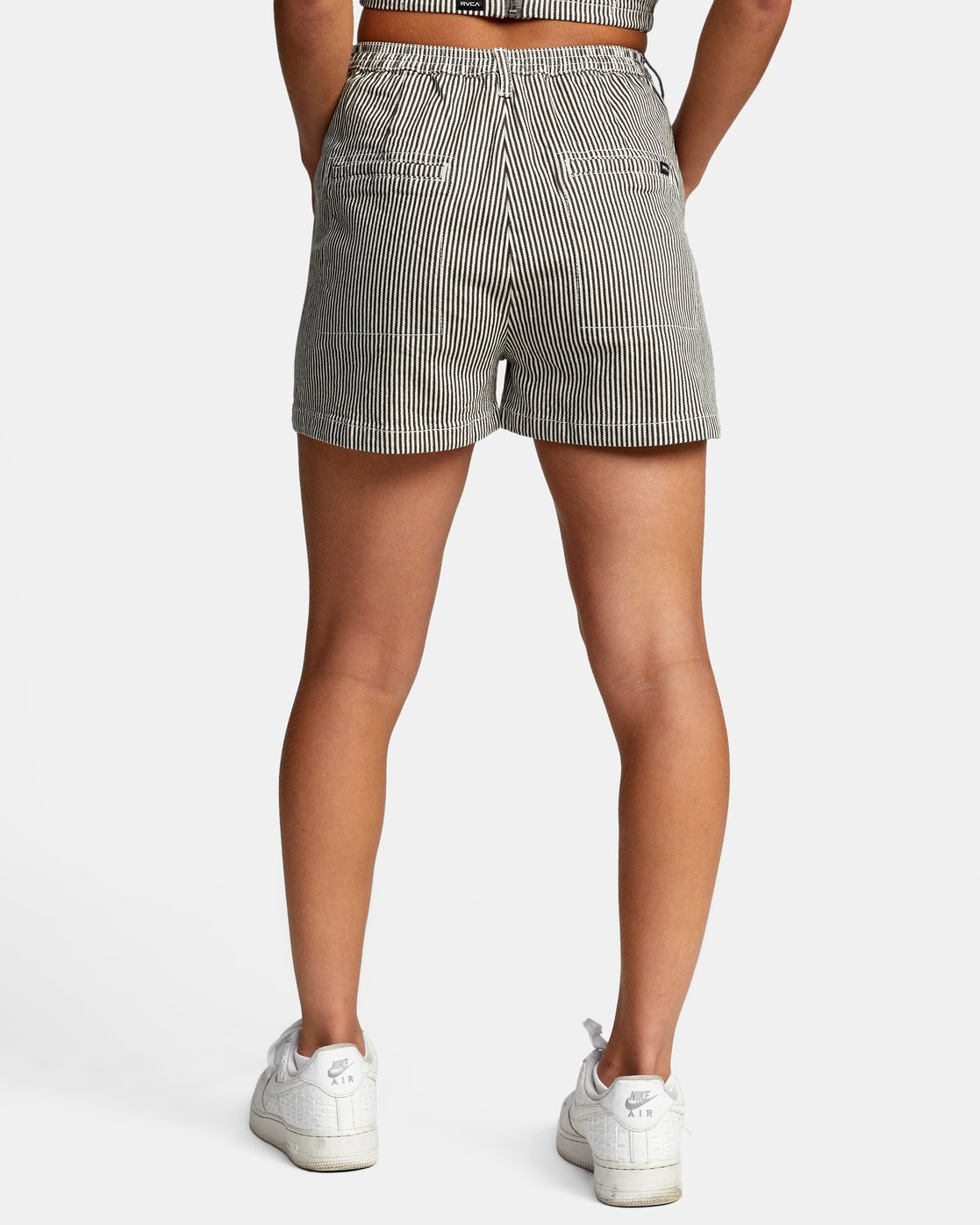 1 WILLOW HIGH RISE SHORTS Beige AVJNS00102 RVCA