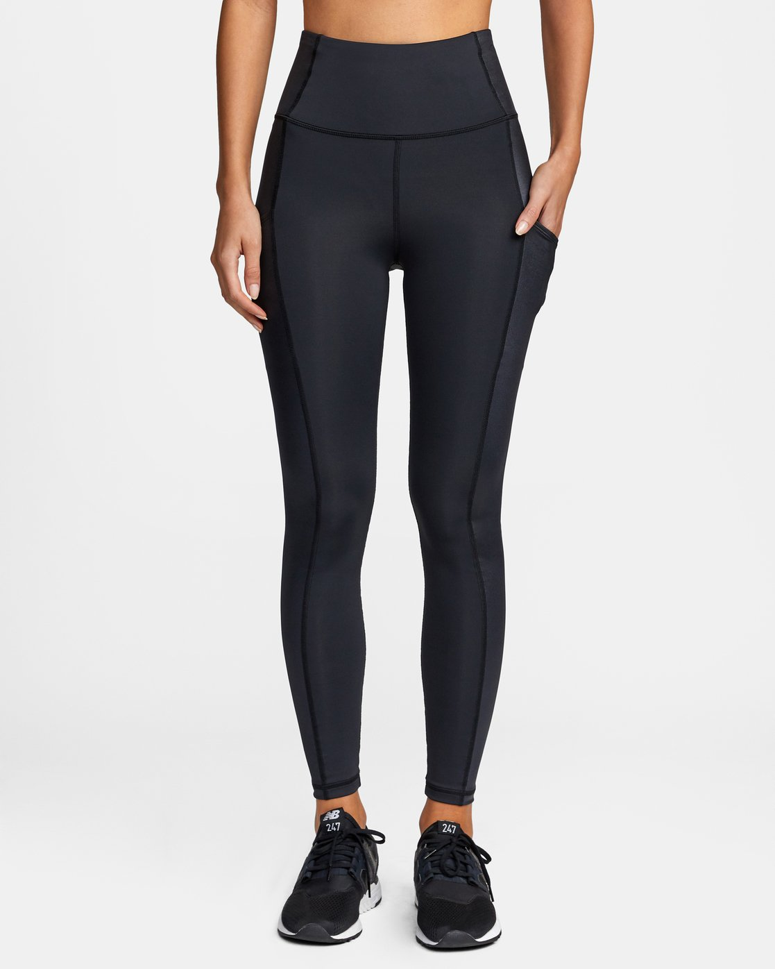 0 SKY HIGH SPORT LEGGING Black AVJNS00105 RVCA