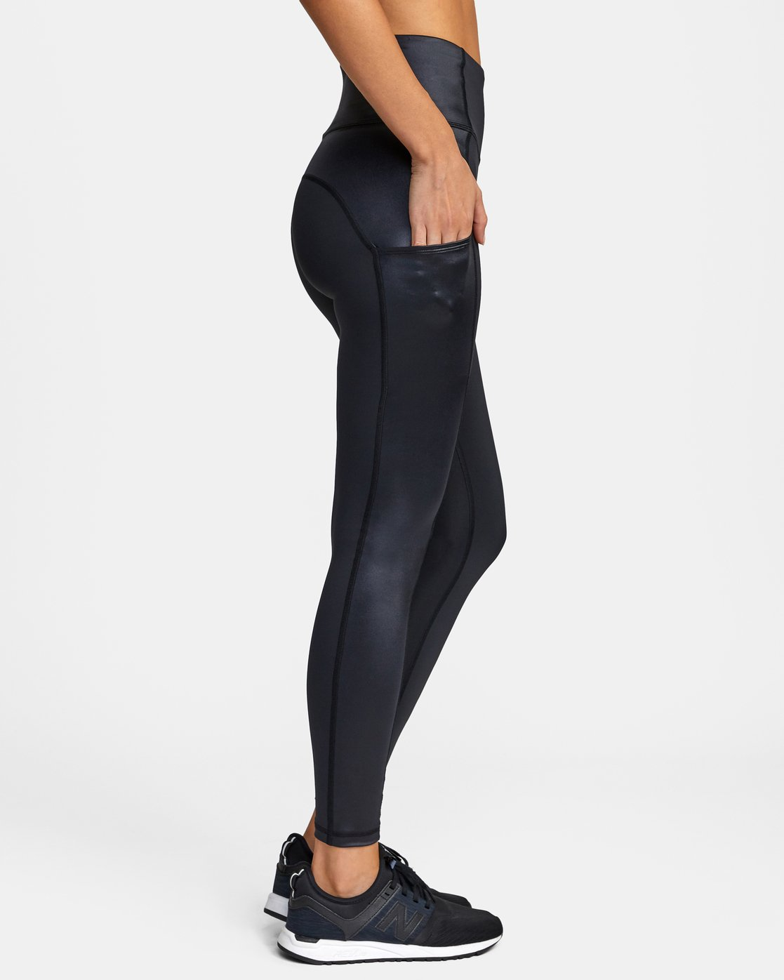 5 SKY HIGH SPORT LEGGING Black AVJNS00105 RVCA