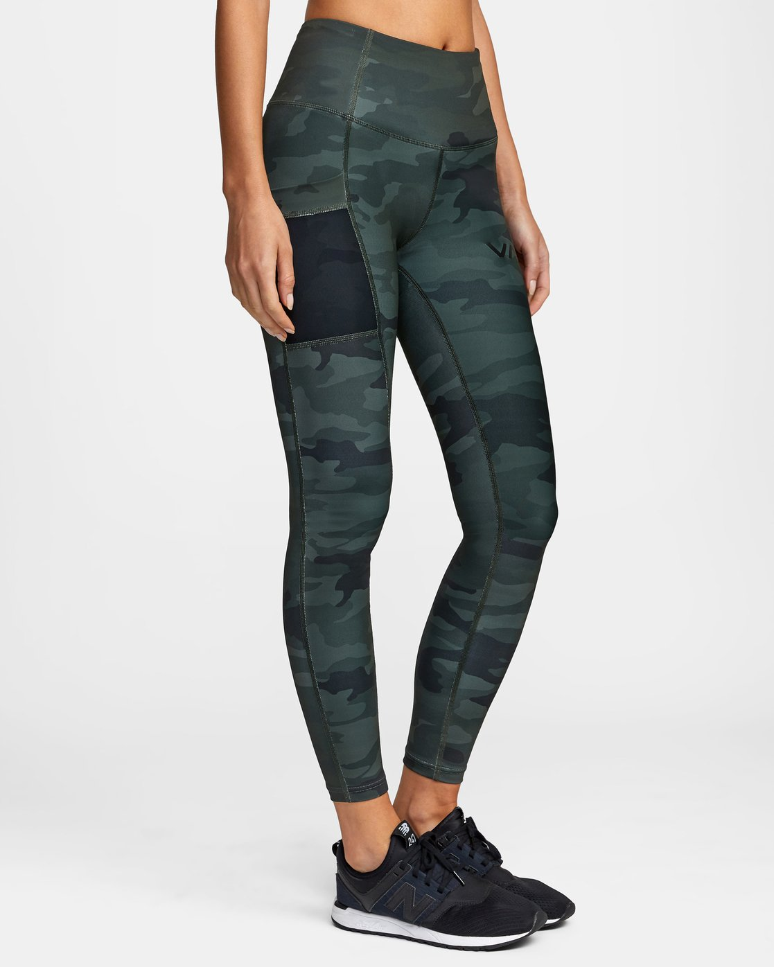 6 POCKET SPORT LEGGING II Green AVJNS00107 RVCA