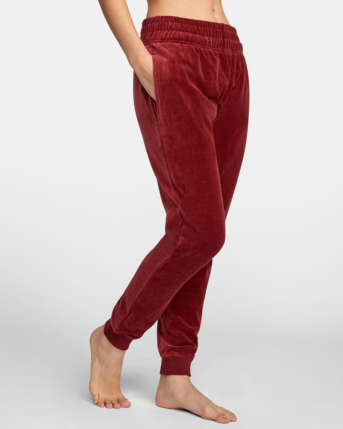 7 DAY OFF SWEATPANT Red AVJPT00100 RVCA