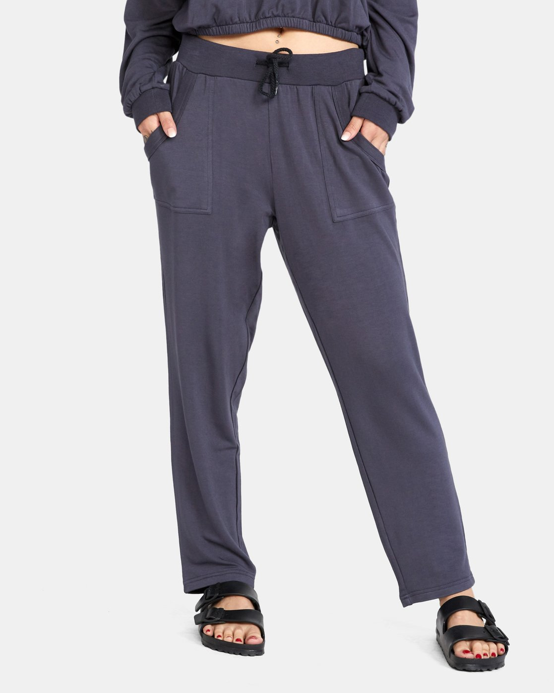0 Downtown Pants Grey AVJPT00107 RVCA