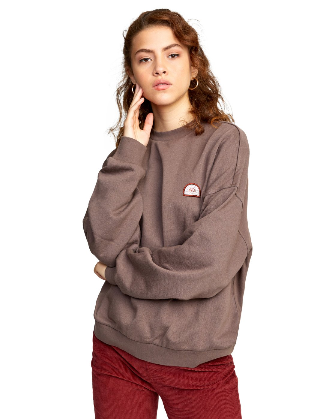 0 POINT DUME PULLOVER  AVJSF00111 RVCA