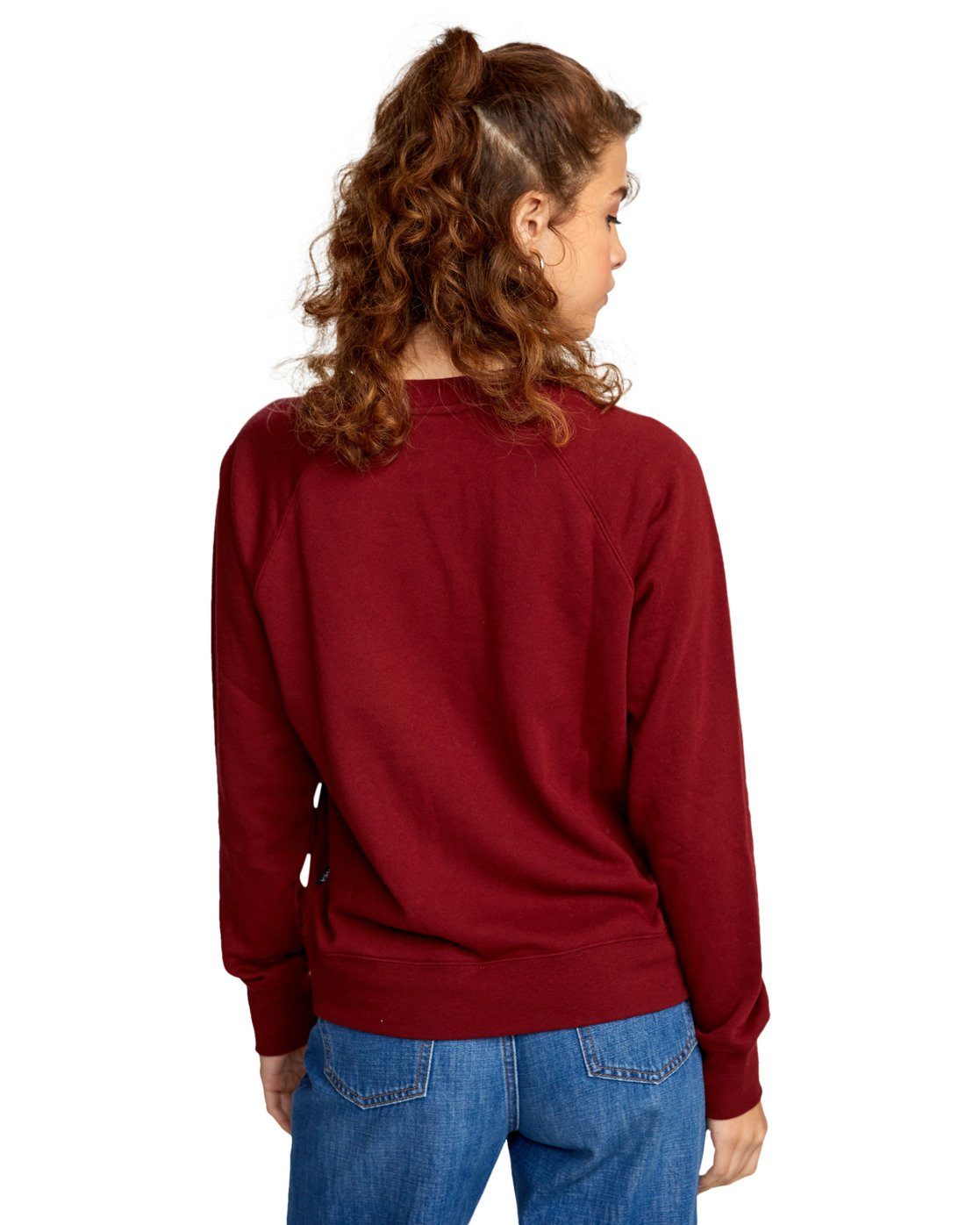 6 ROSITA PULLOVER SWEATER Red AVJSF00116 RVCA