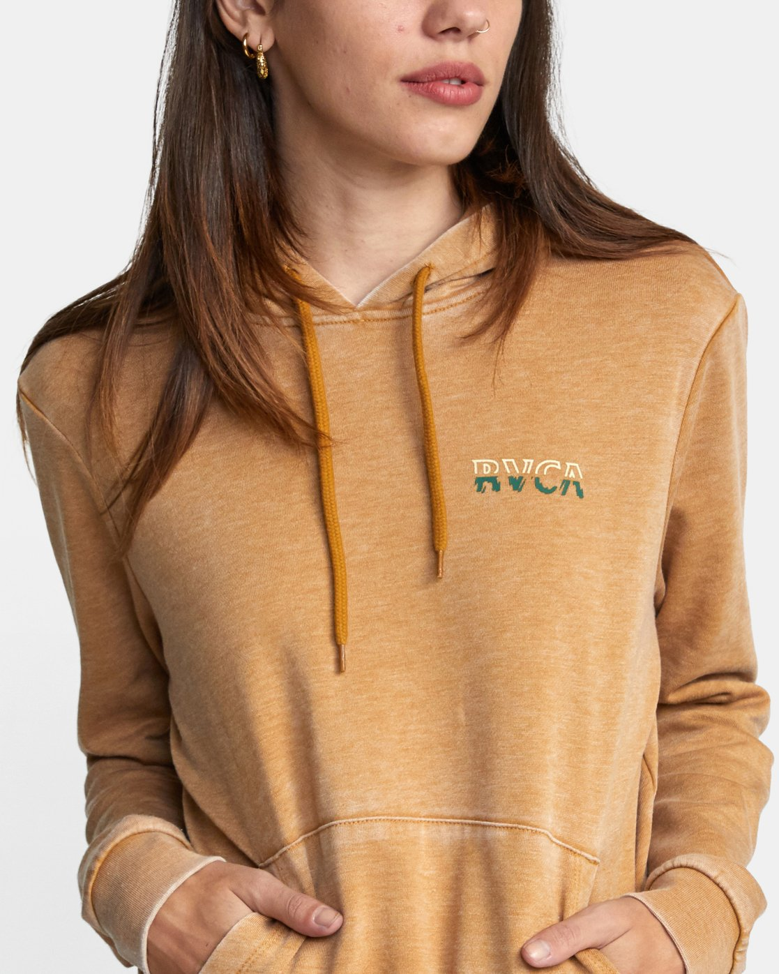 2 FRACTURE HOODIE White AVJSF00117 RVCA