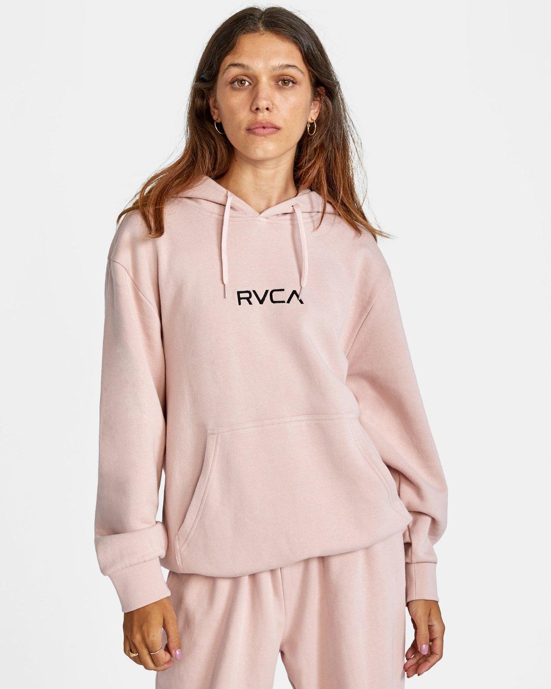 0 Little RVCA Hoodie Grey AVJSF00143 RVCA