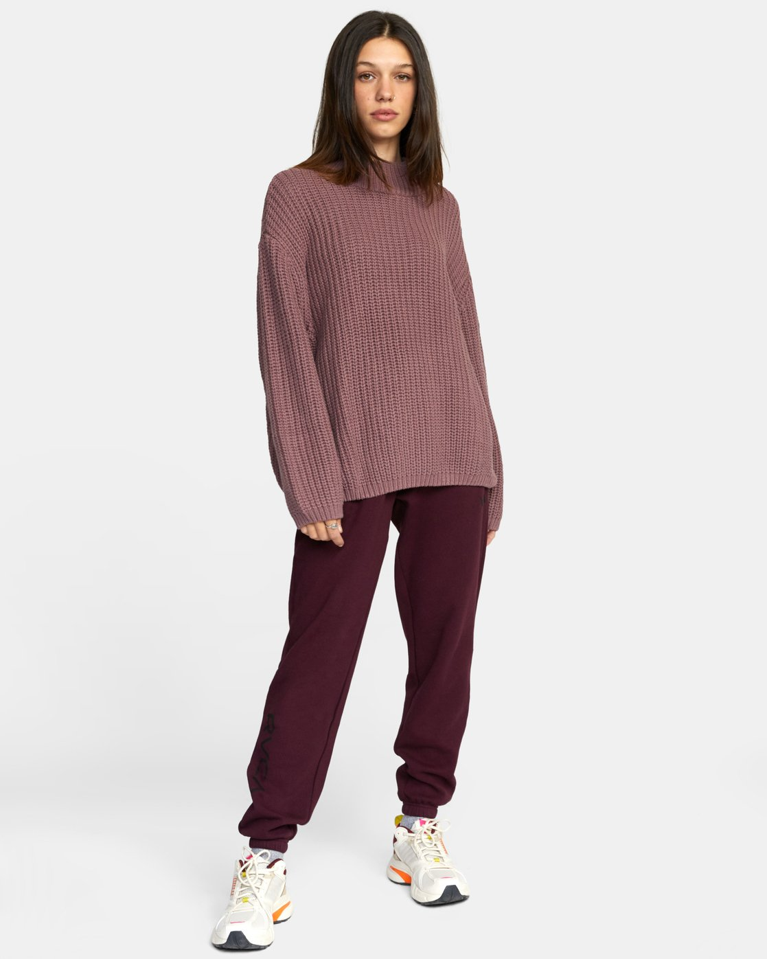 4 FITZ SWEATER Purple AVJSW00103 RVCA