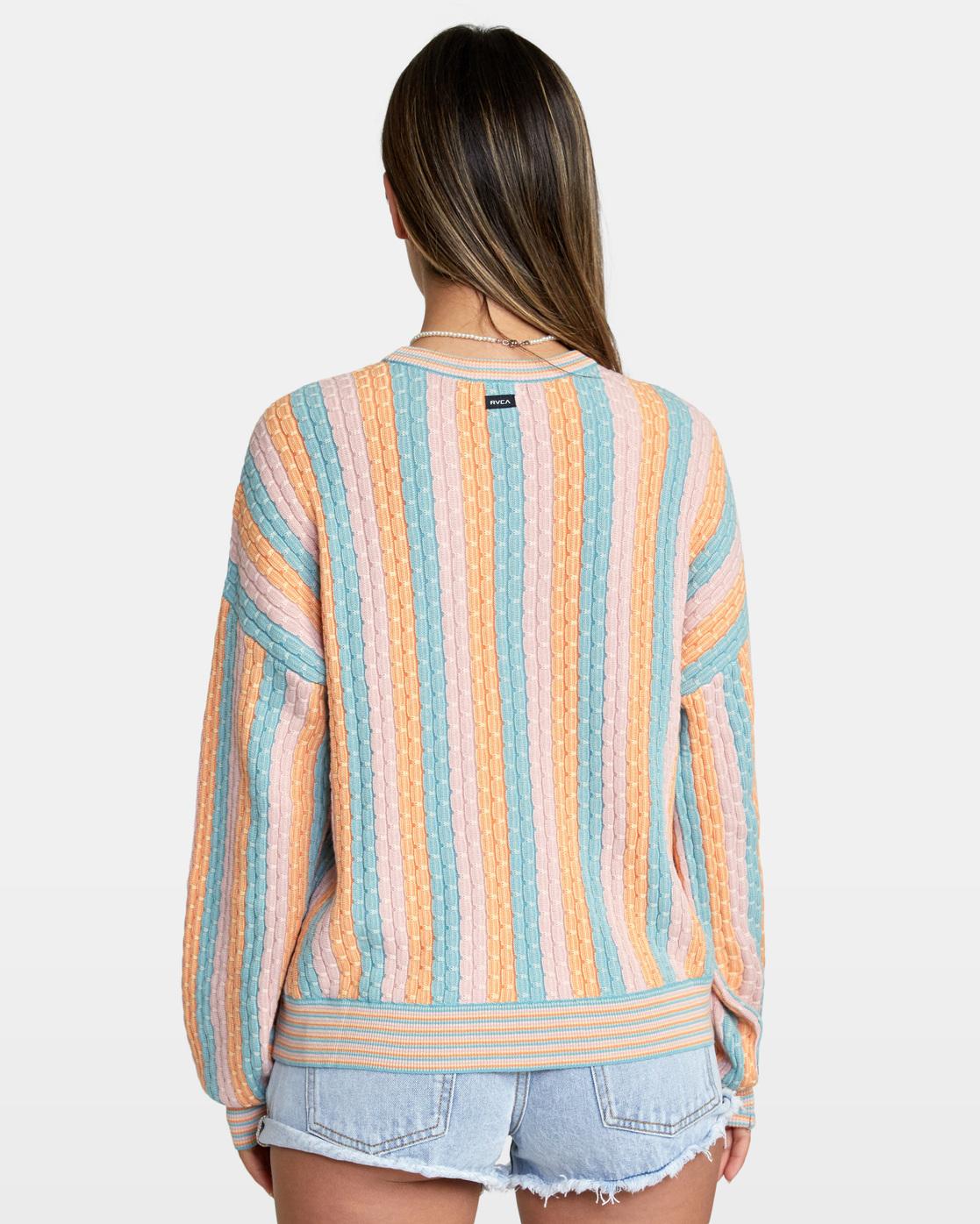 2 Space Case Sweater Grey AVJSW00116 RVCA