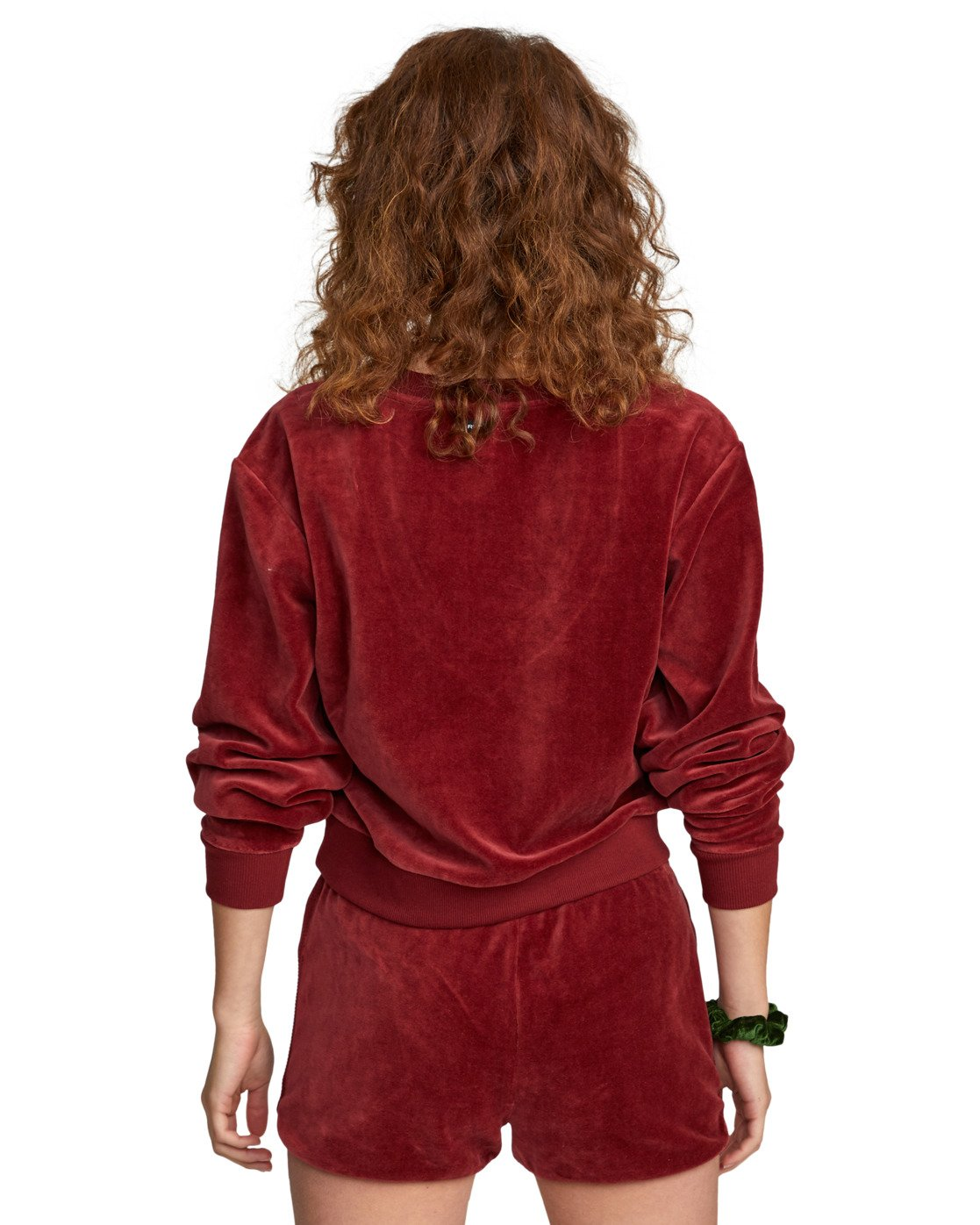 6 DAY OFF SWEATER Red AVJTO00100 RVCA