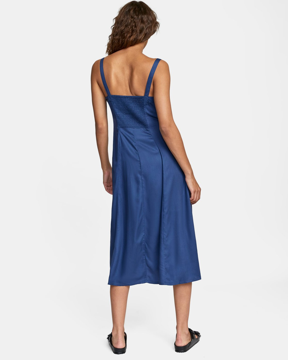 4 JETHRO MIDI DRESS Blue AVJWD00140 RVCA