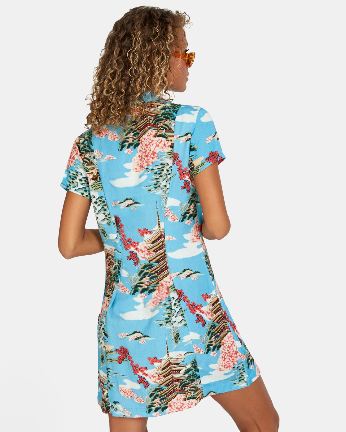 4 Island Time Dress Brown AVJWD00157 RVCA