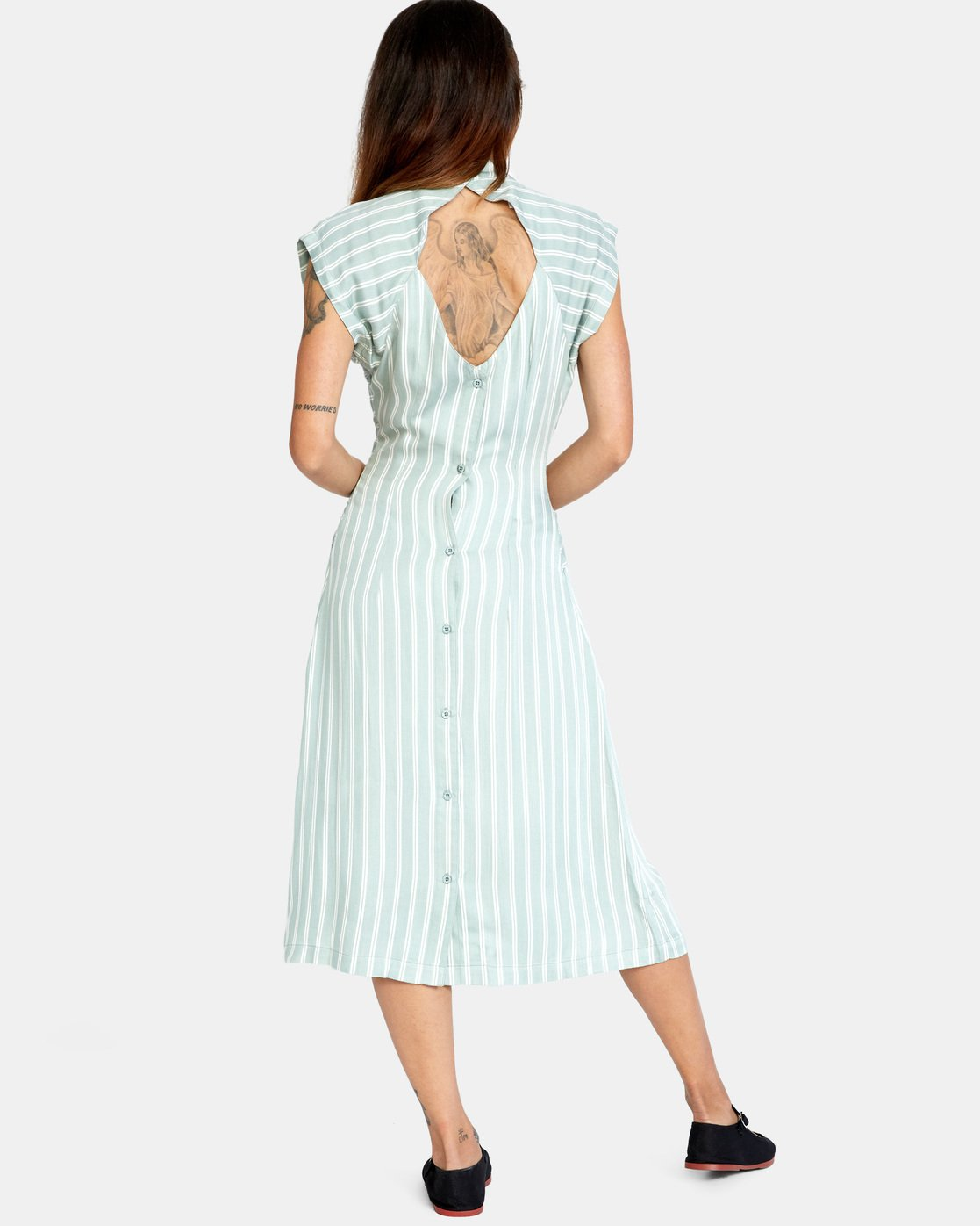 1 Nouveau Dress Blue AVJWD00160 RVCA