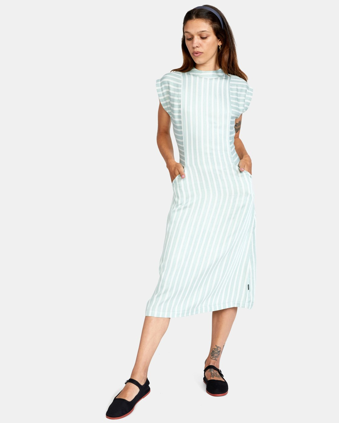 0 Nouveau Dress Blue AVJWD00160 RVCA