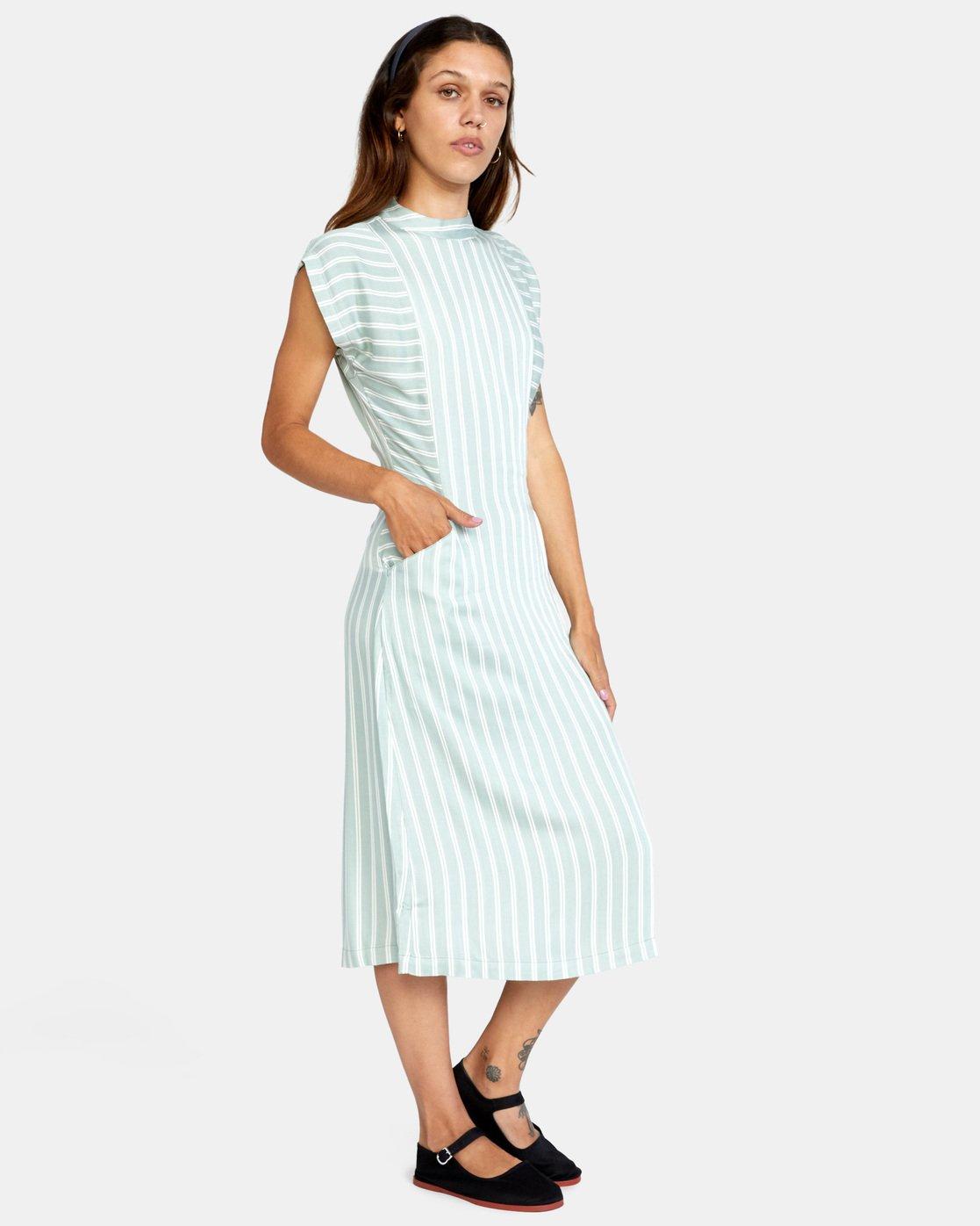 2 Nouveau Dress Blue AVJWD00160 RVCA