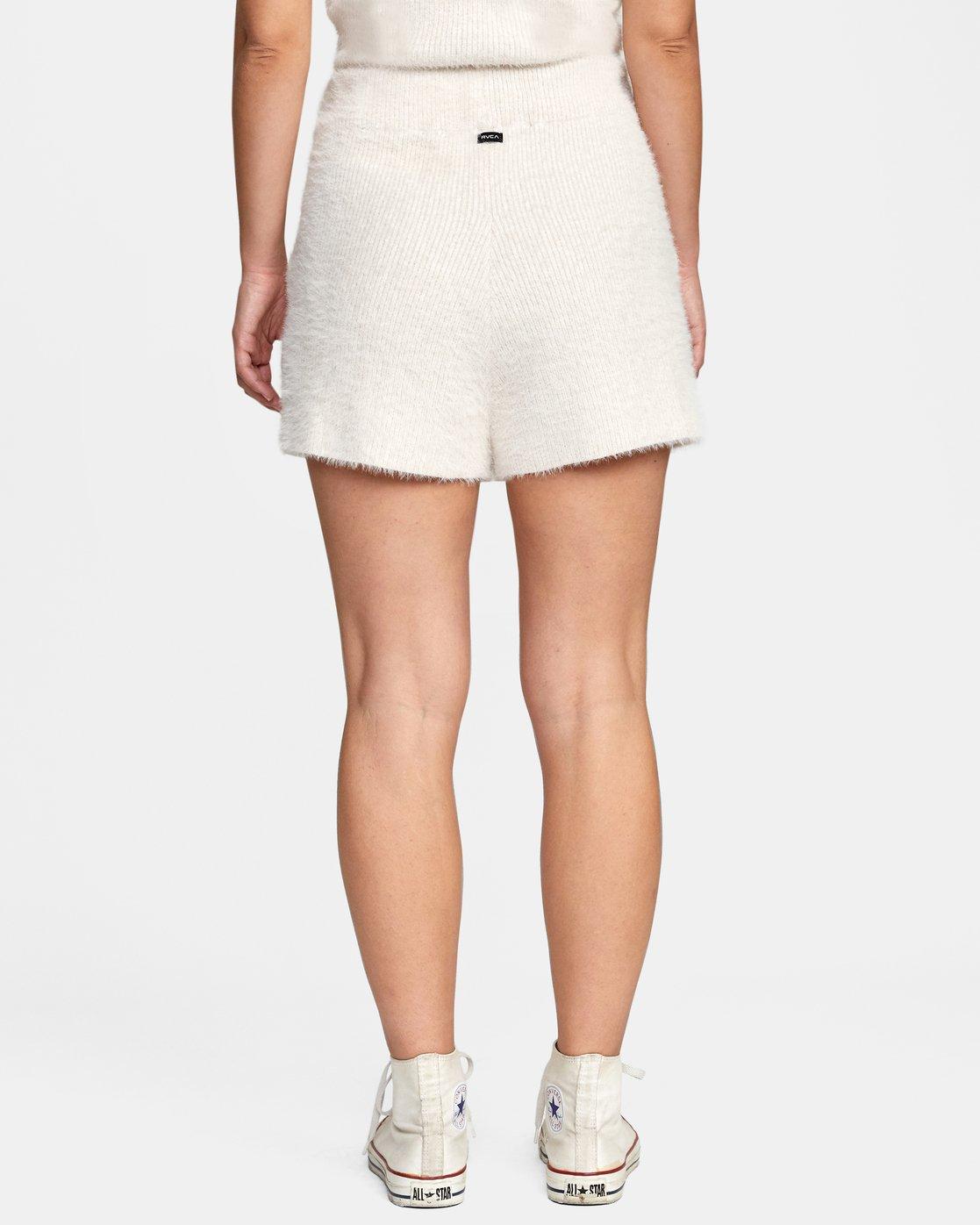 1 Cabin Fever Knit Short White AVJWH00103 RVCA