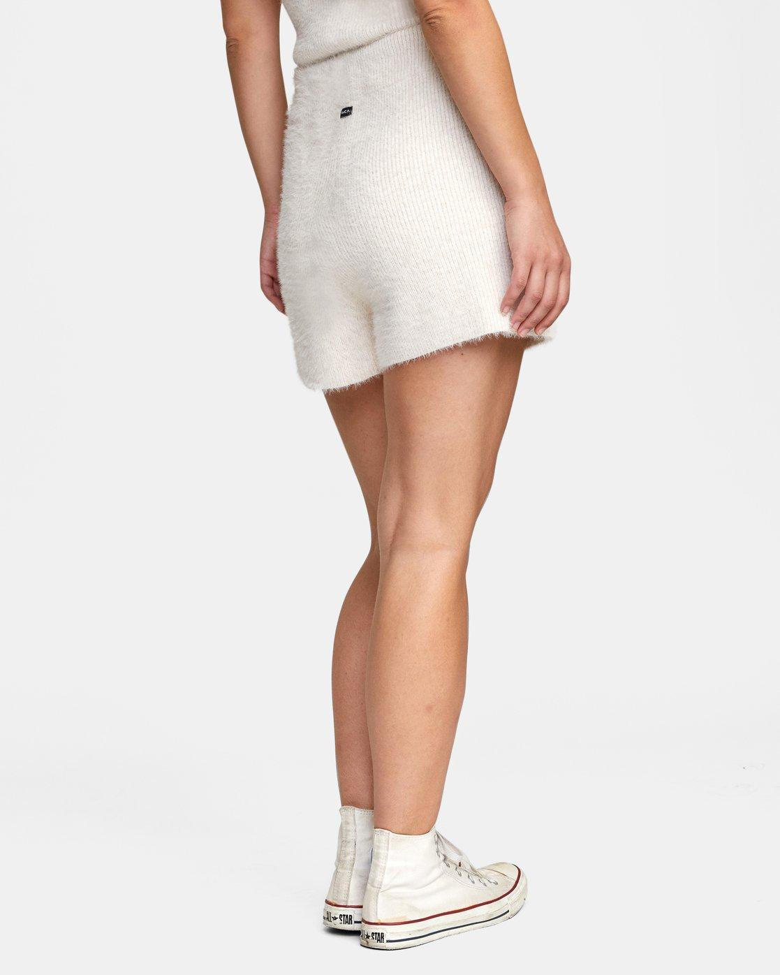 5 Cabin Fever Knit Short White AVJWH00103 RVCA