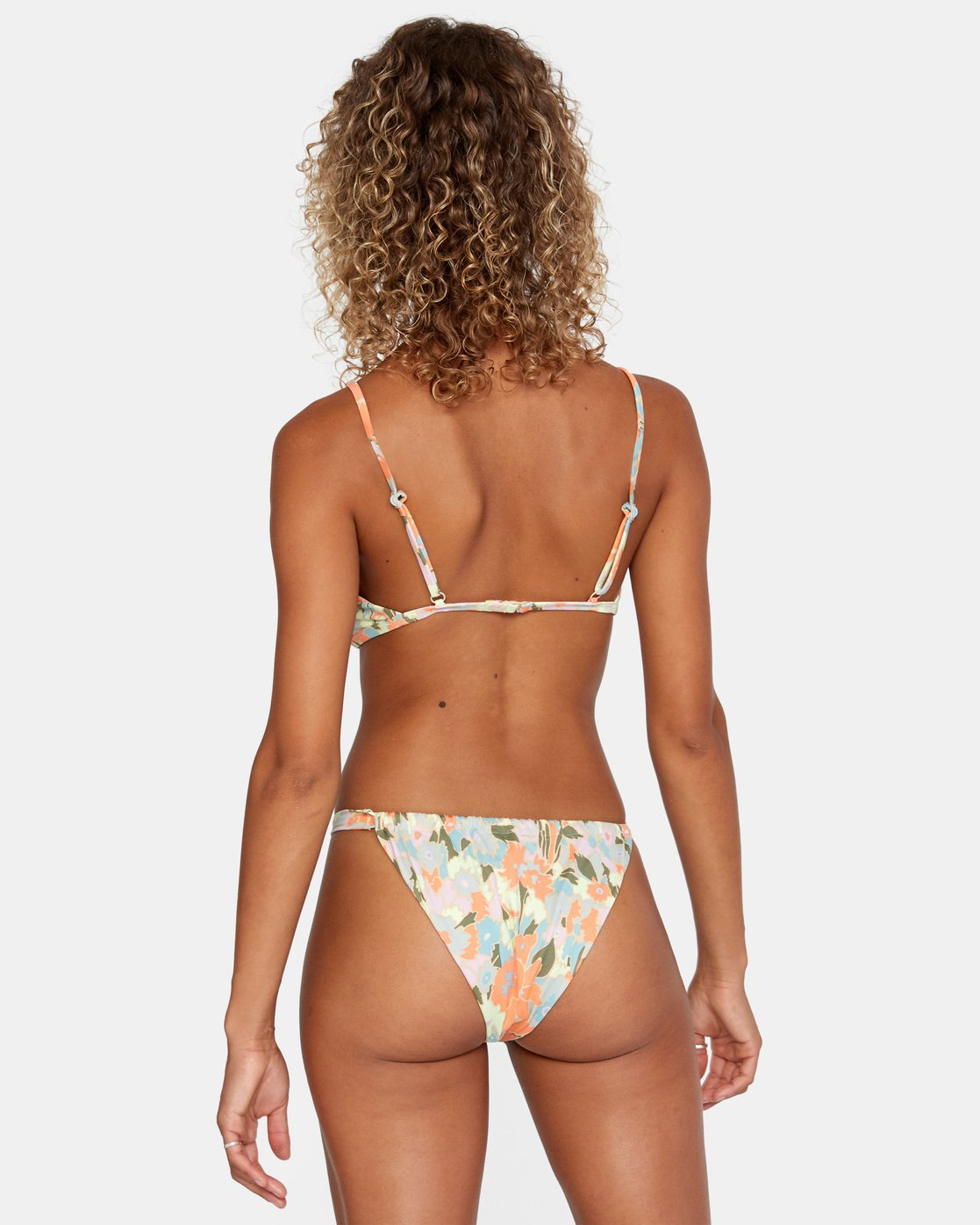 2 On The Road Trilette Bikini Top Brown AVJX300164 RVCA