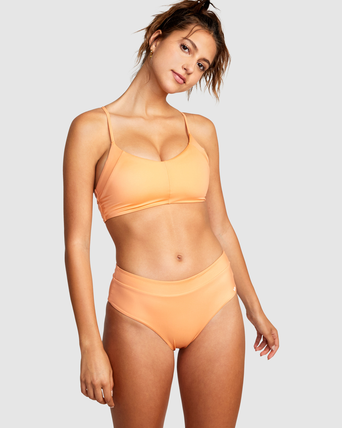 0 WILDER CROSSBACK TOP Orange AVJX300185 RVCA