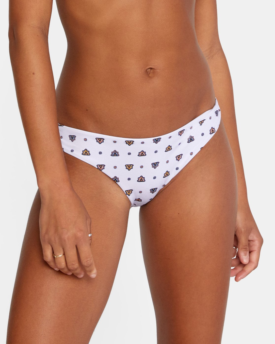 4 Foulard Cheeky Bikini Bottom Purple AVJX400187 RVCA