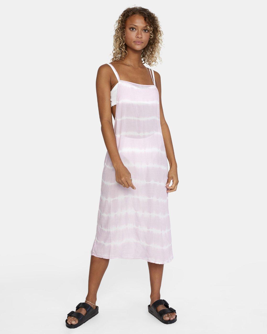 8 Island Hopper Dress Purple AVJX600107 RVCA