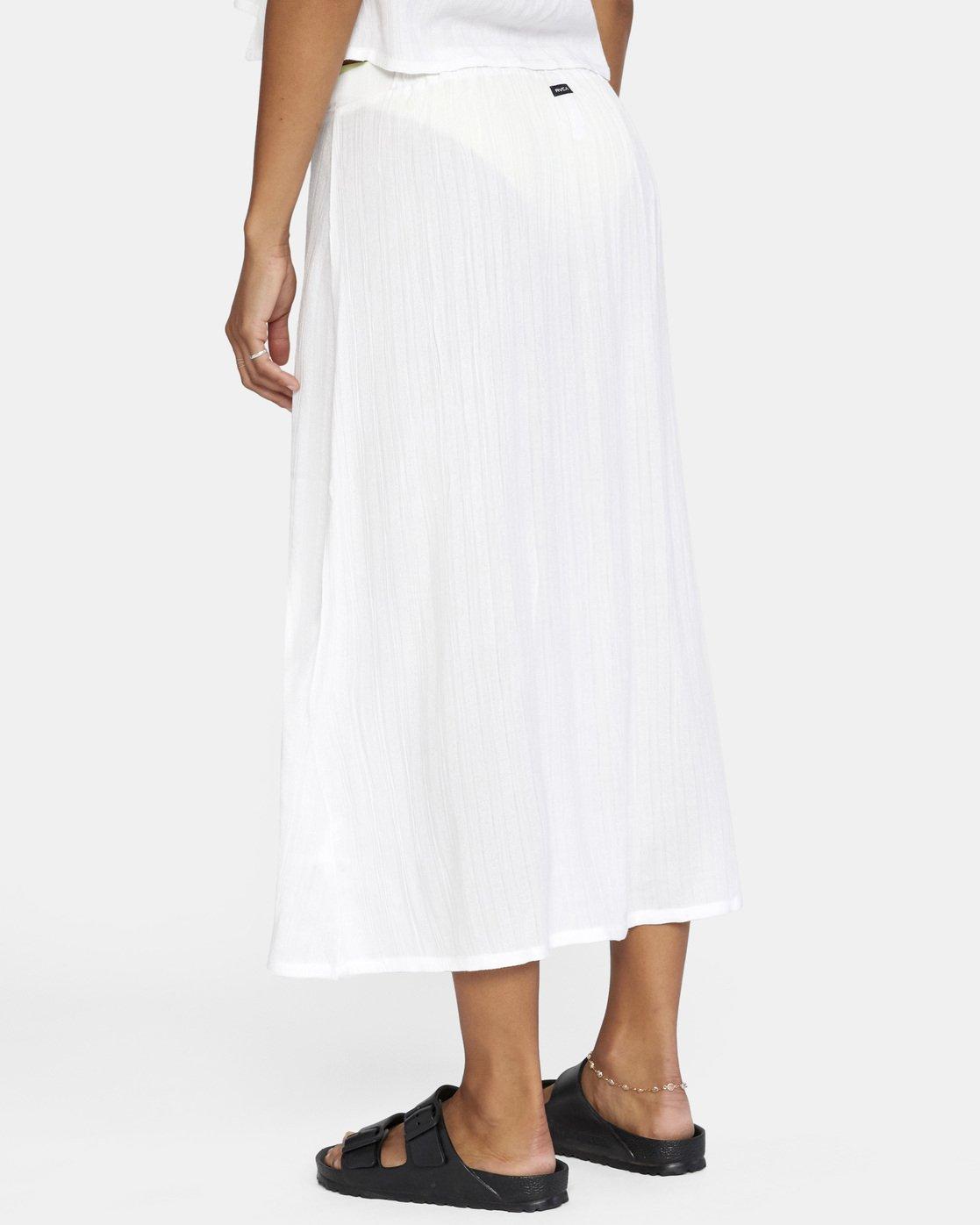 4 After Hours Skirt White AVJX600112 RVCA
