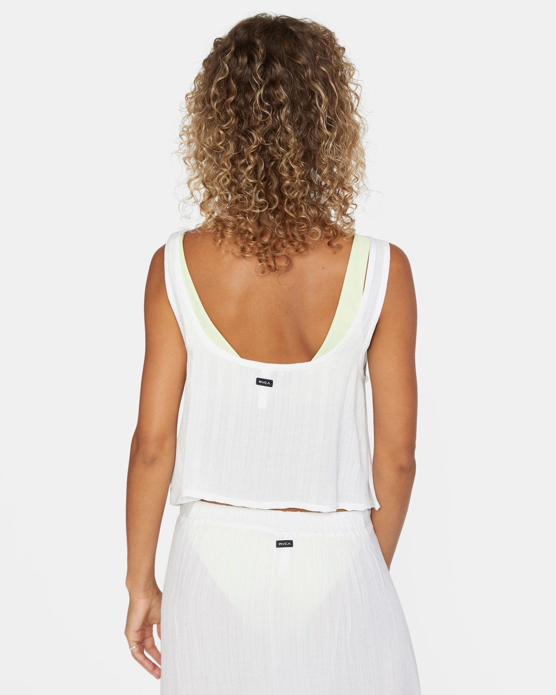 3 After Hours Top White AVJX600113 RVCA