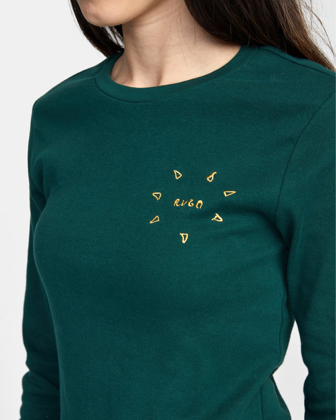 2 SPARKS LONG SLEEVE TEE Green AVJZT00119 RVCA