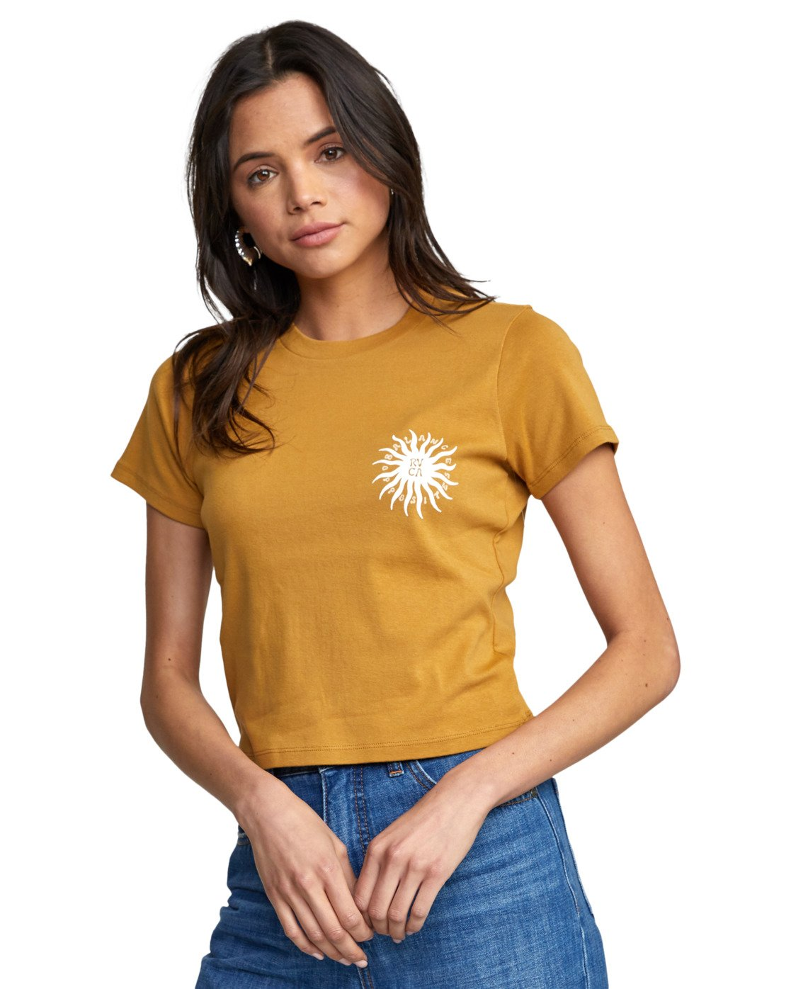 5 SUN SPROUT TEE White AVJZT00128 RVCA
